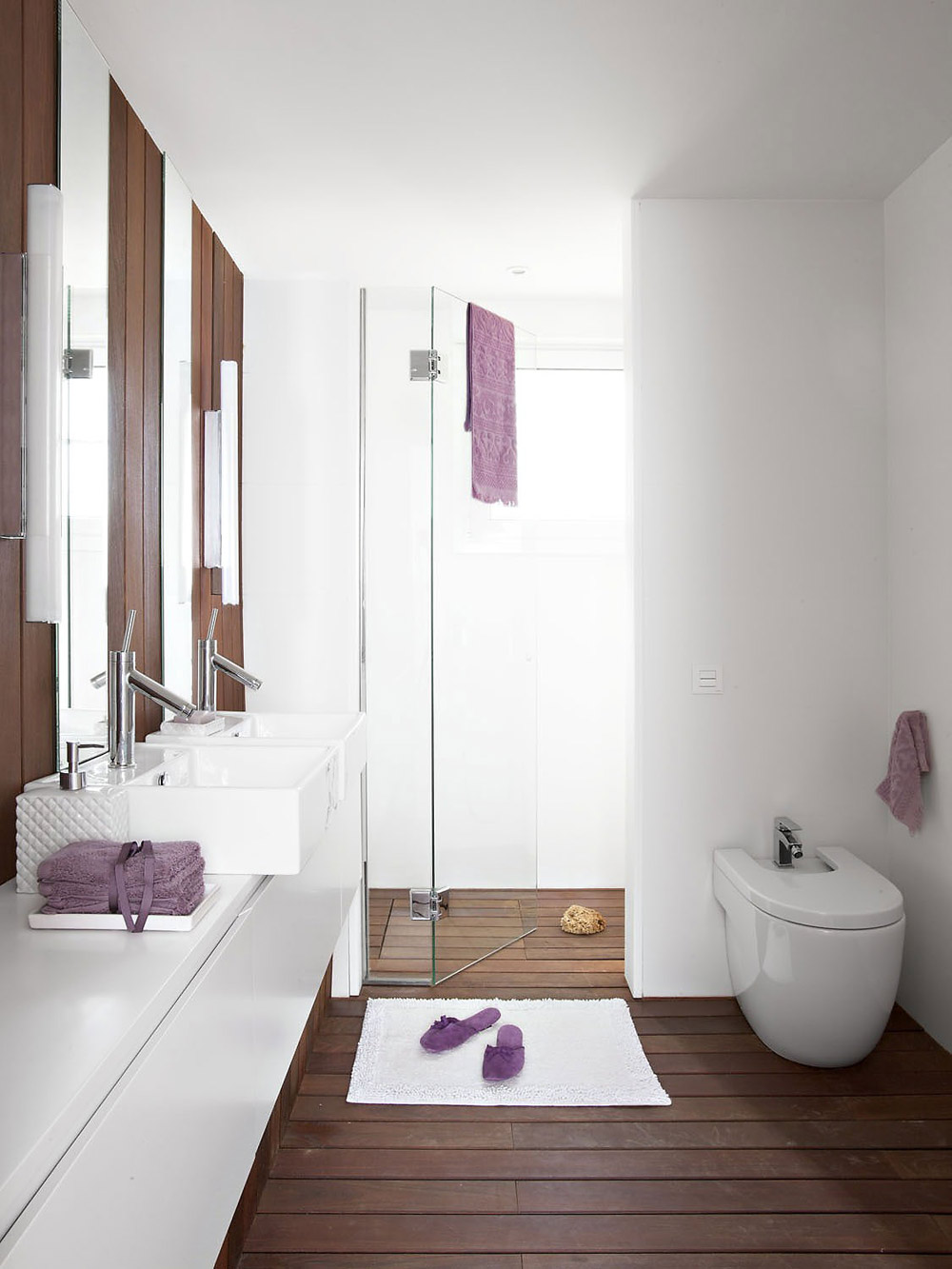 Bathroom, Vivienda en Llaveneres by Susanna Cots