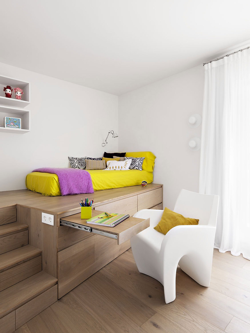 Bedroom, Vivienda en Llaveneres by Susanna Cots
