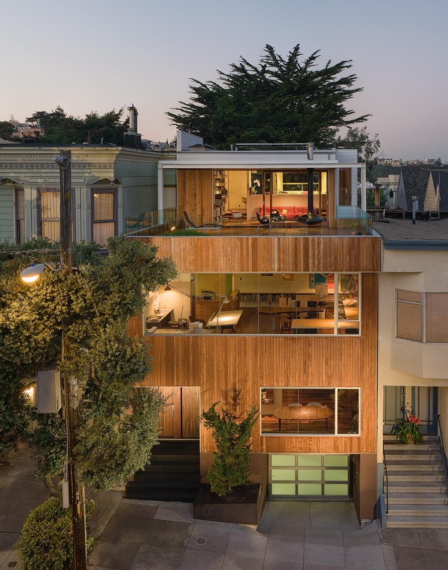 Beaver Street Reprise, San Francisco by Craig Steely Architecture