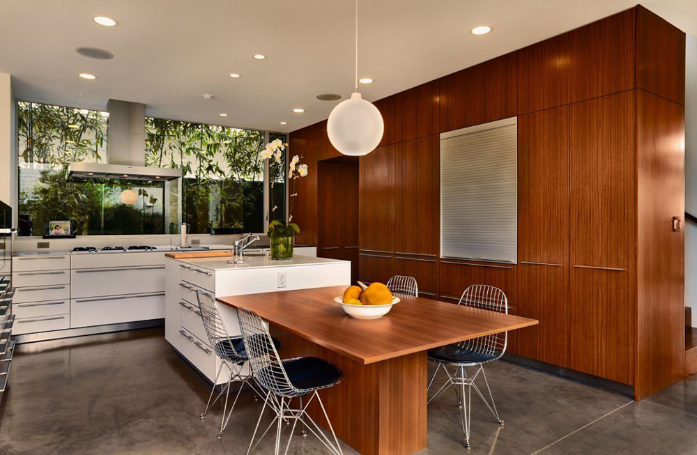 Kitchen, Carrillo Residence, Los Angeles by Ehrlich Architects