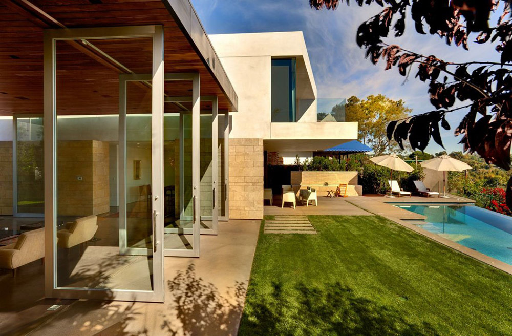Pool, Carrillo Residence, Los Angeles by Ehrlich Architects