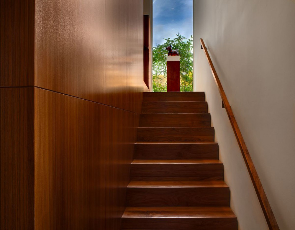 Stairs, Carrillo Residence, Los Angeles by Ehrlich Architects