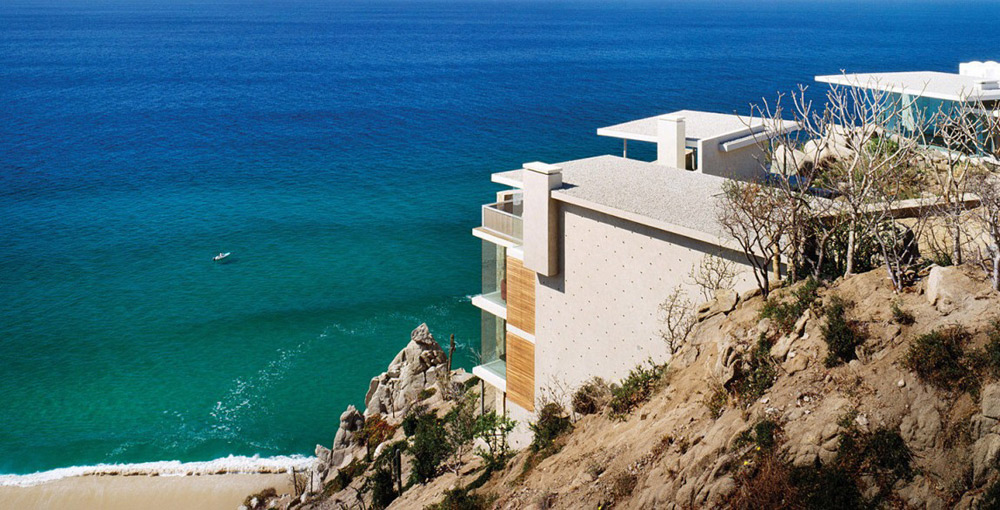 Cliff Home, Casa Finisterra, Baja California Sur, Mexico by Steven Harris Architects