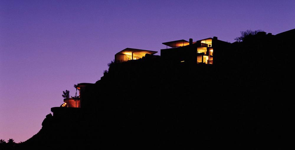 Evening View, Casa Finisterra, Baja California Sur, Mexico by Steven Harris Architects