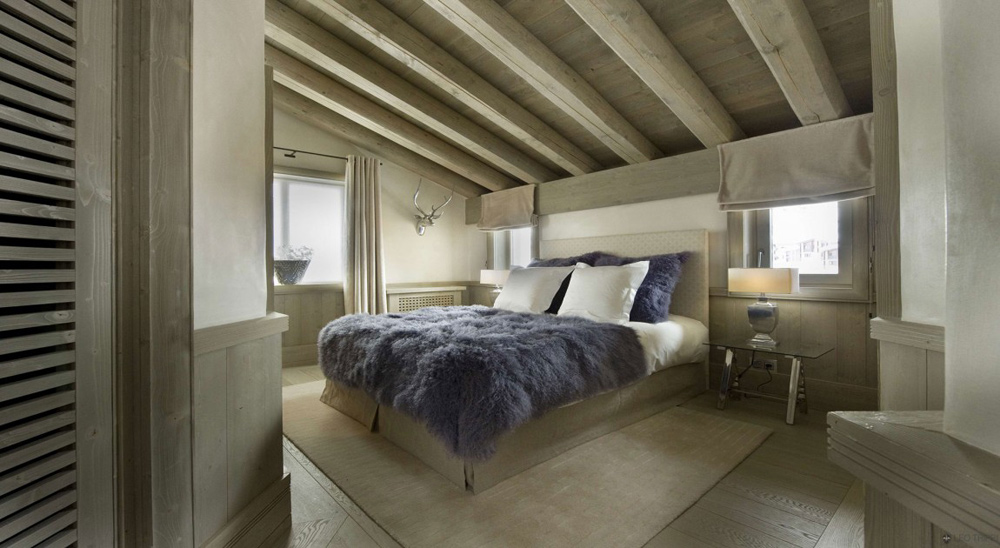 Bedroom, Chalet White Pearl by Philippe Capezzone