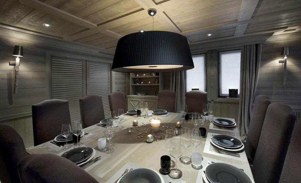 Dining, Chalet White Pearl by Philippe Capezzone