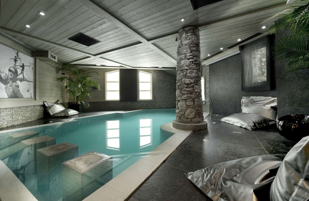 Pool, Chalet White Pearl by Philippe Capezzone