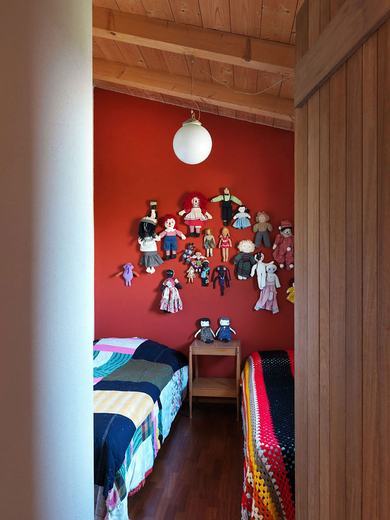 Children's Bedroom, Countryhouse in Val Tidone, Italy by Park Associati
