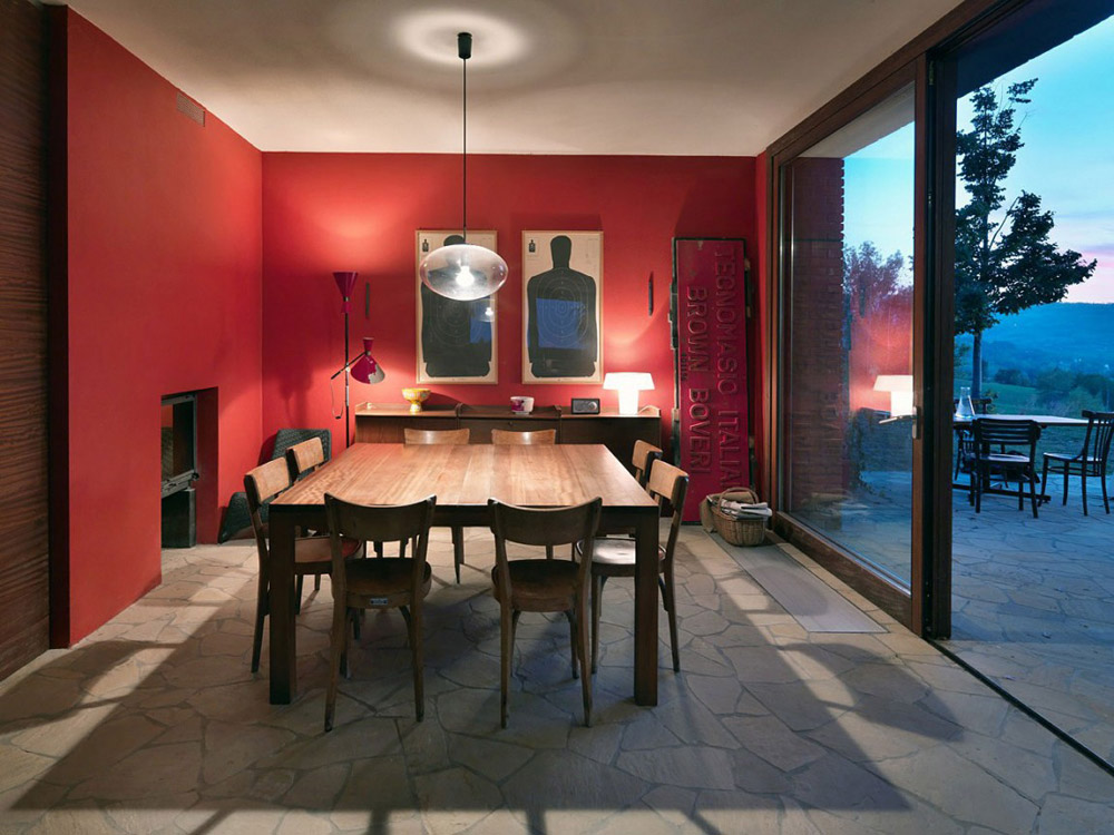 Dining Room, Countryhouse in Val Tidone, Italy by Park Associati