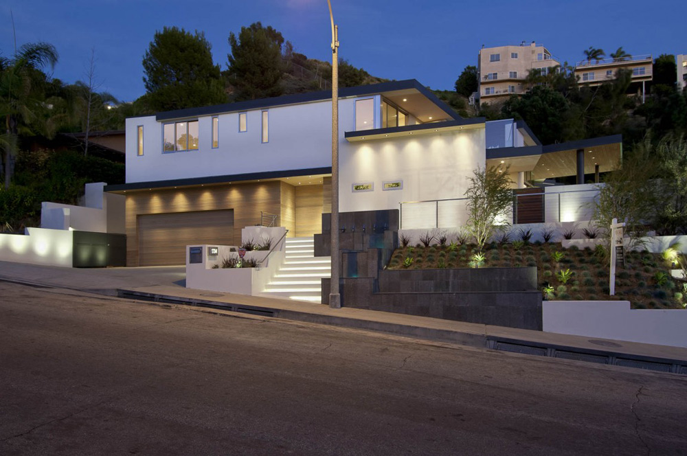 Doheny Residence, Hollywood Hills by Luca Colombo Design