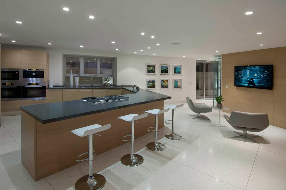 Kitchen, Doheny Residence, Hollywood Hills by Luca Colombo Design