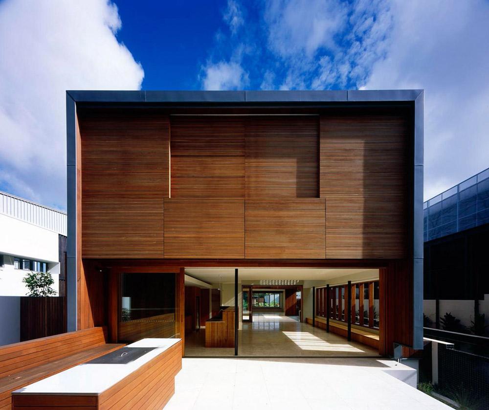 Terrace, Elysium 176 by Richard Kirk Architect