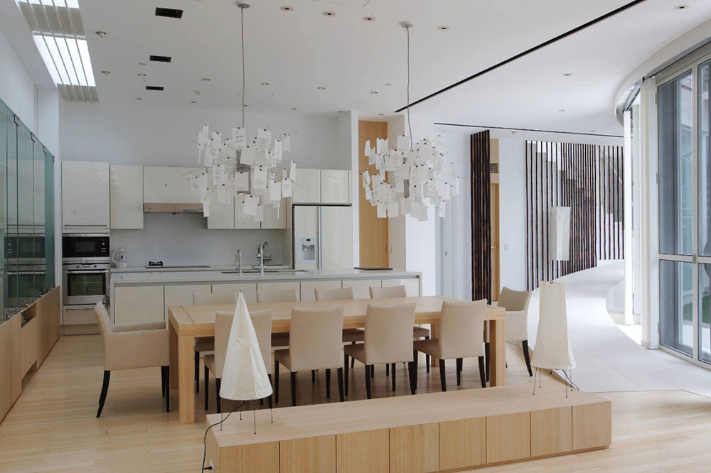 Kitchen & Dining, F Residence by Edward Suzuki Architecture