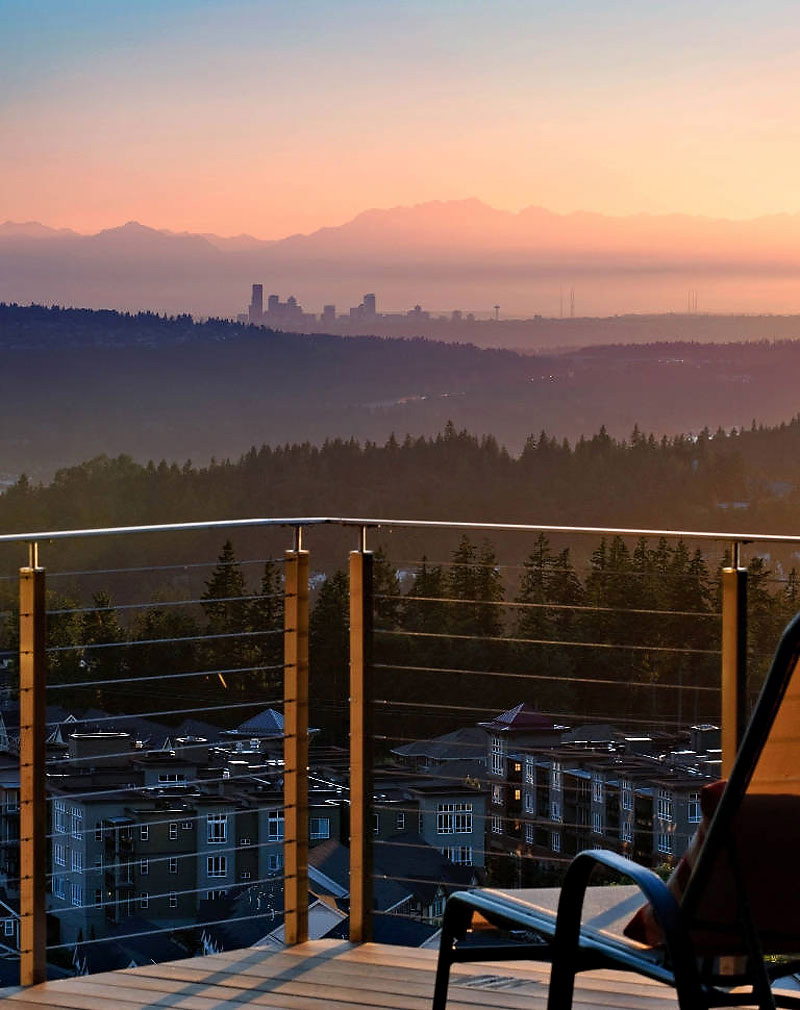 View, Harrison Street Residence by Scott Allen Architecture