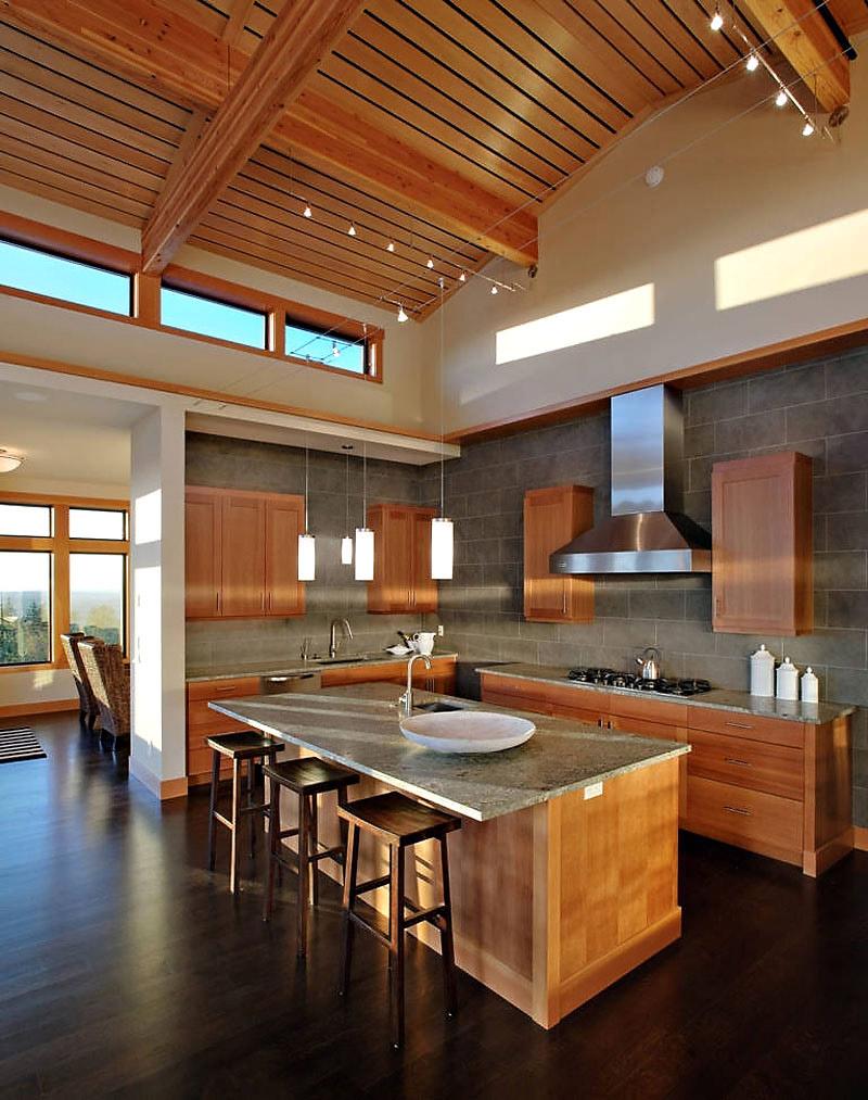 Kitchen, Harrison Street Residence by Scott Allen Architecture