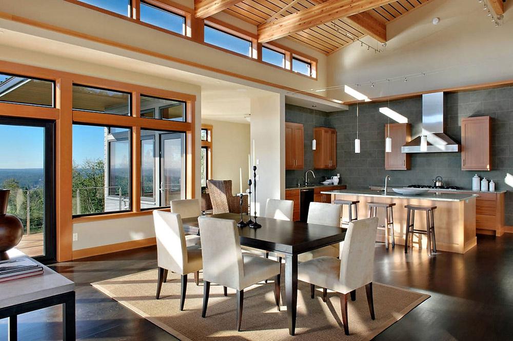Dining, Harrison Street Residence by Scott Allen Architecture