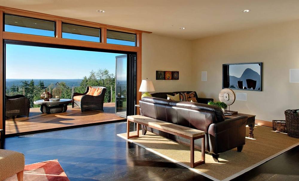 Living Space, Harrison Street Residence by Scott Allen Architecture