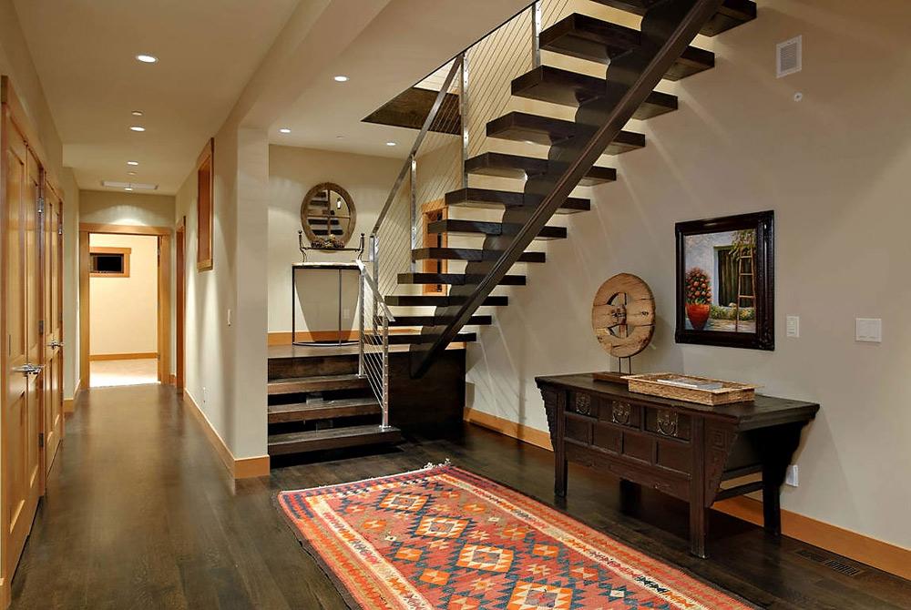 Staircase, Harrison Street Residence by Scott Allen Architecture