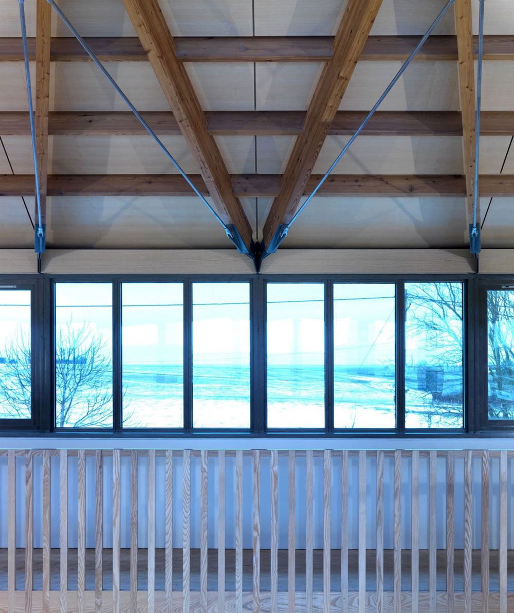 Landing, The Long House by Hopkins Architects