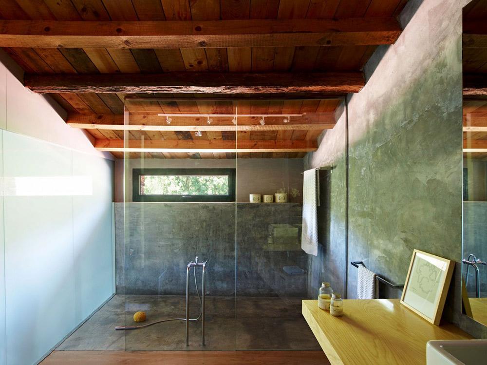 Bathroom, Mas La Riba by Ferran López Roca Arquitectura