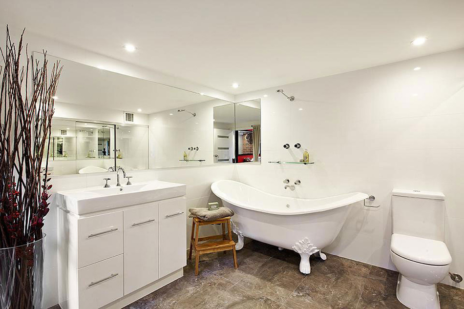 Bathroom, Warehouse Conversion in Abbotsford