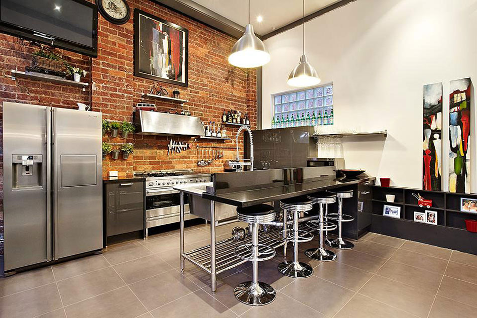Kitchen, Warehouse Conversion in Abbotsford