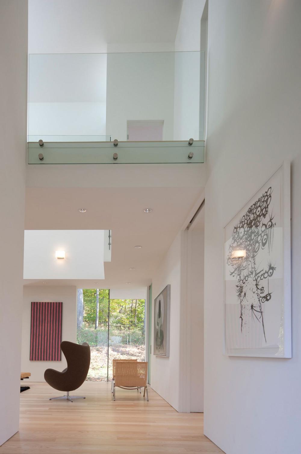 Hall, NaCl Residence by David Jameson Architect Inc