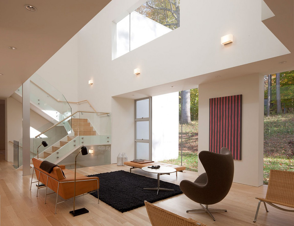 Living Space, NaCl Residence by David Jameson Architect Inc