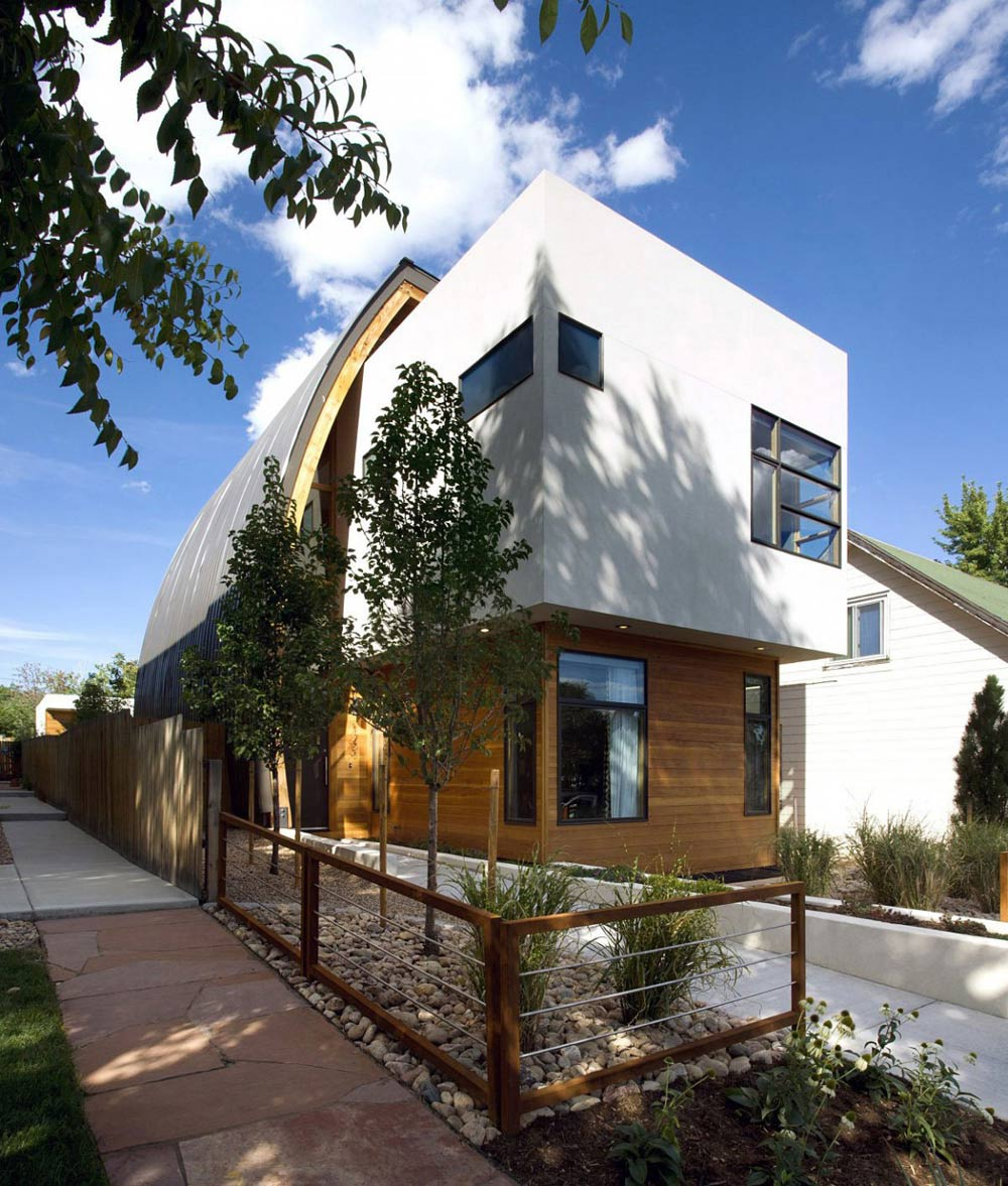 Shield House, Colorado by Studio H:T