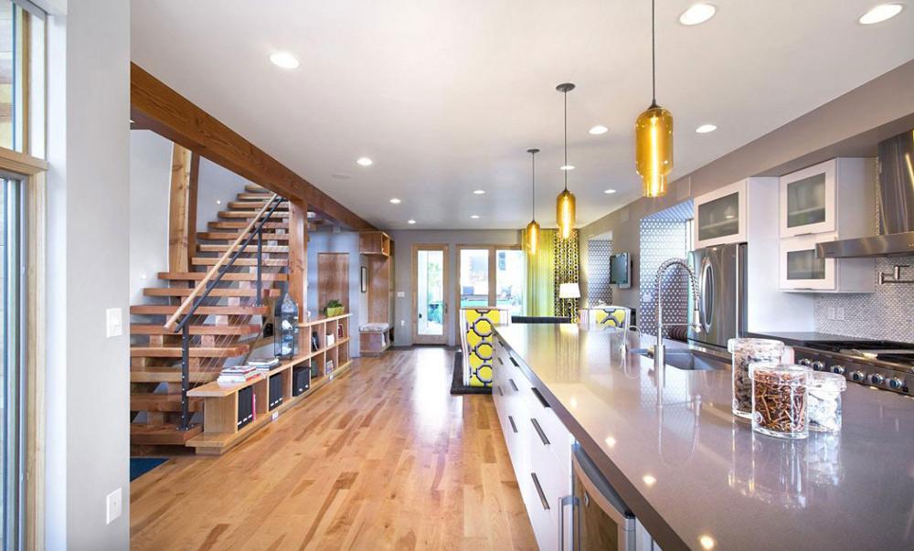 Kitchen, Shield House, Colorado by Studio H:T