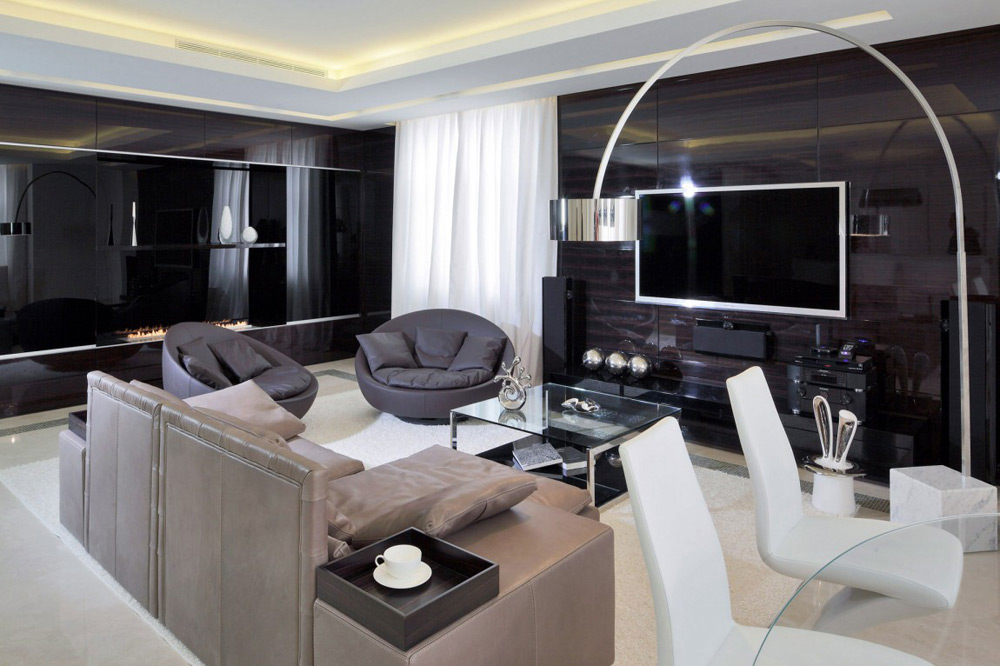 Shuvalovsky Apartment, Moscow by Geometrix Design