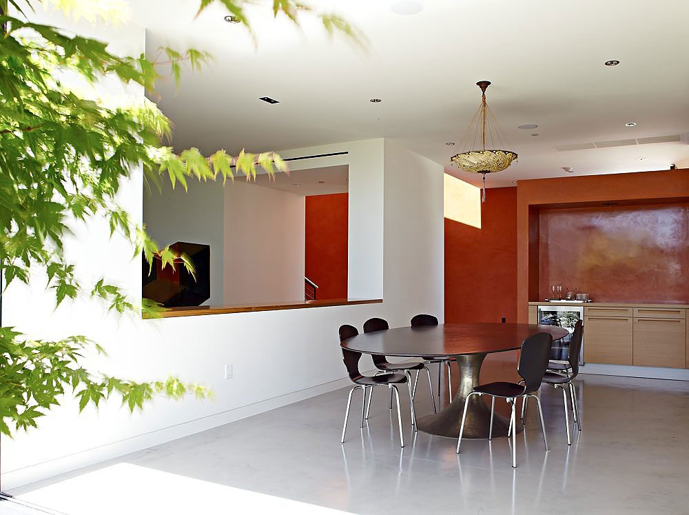 Dining Room, Three Wall House by Kovac Architects