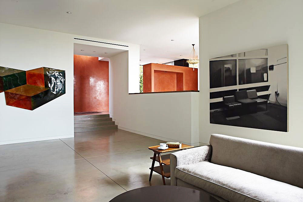 Living Space, Three Wall House by Kovac Architects