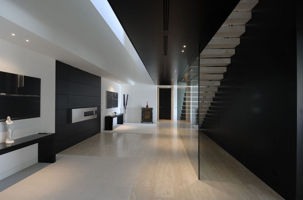 Entrance Hall, The Vivienda 19 by A-cero