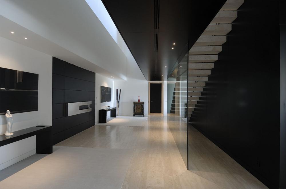 Entrance Hall, The Vivienda 19 by A-cero