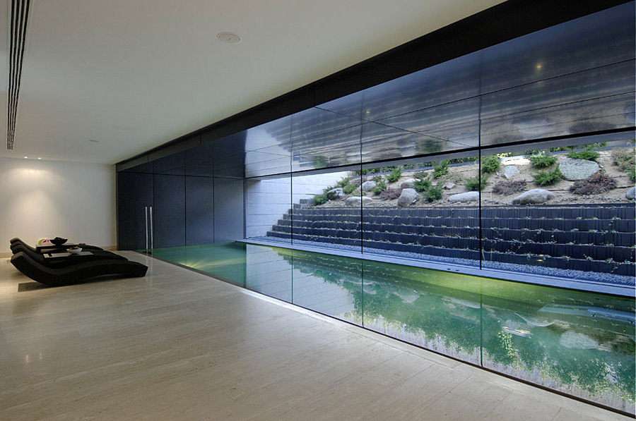 Indoor Pool, The Vivienda 19 by A-cero
