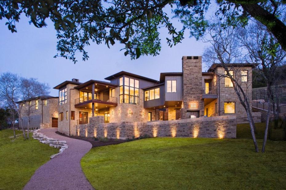 Westlake Drive House, Austin, Texas by James D. LaRue Architects