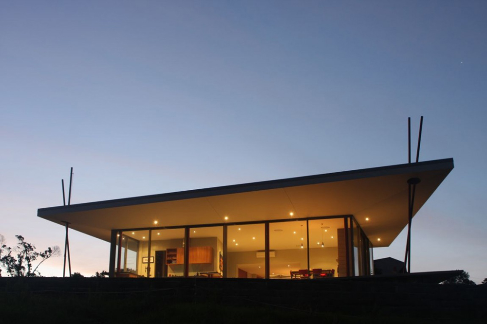 Bourke House, New Zealand, by Pacific Environments Architects