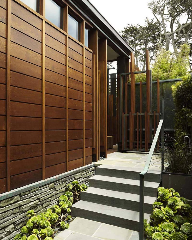 Carmel Residence, California by Dirk Denison Architects