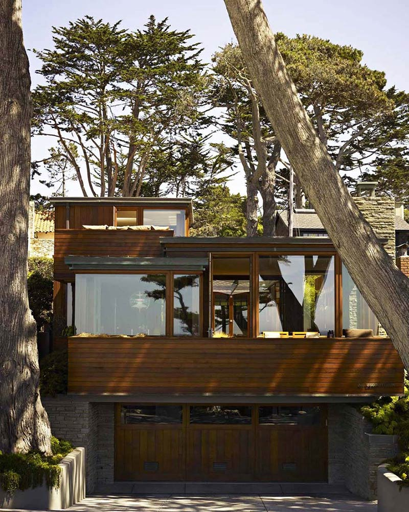 Carmel Residence, California, by Dirk Denison Architects