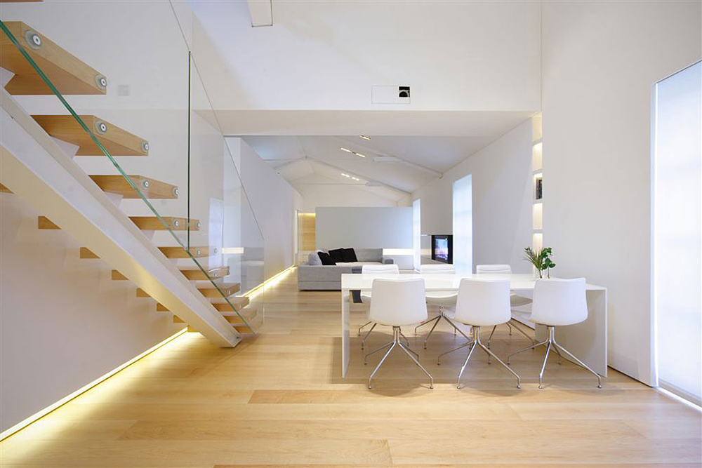 Open Plan Living, Como Loft, Milan by JM Architecture