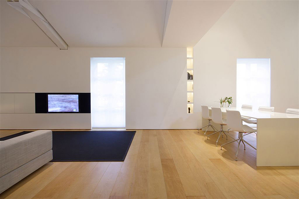 Living Space, Como Loft, Milan by JM Architecture