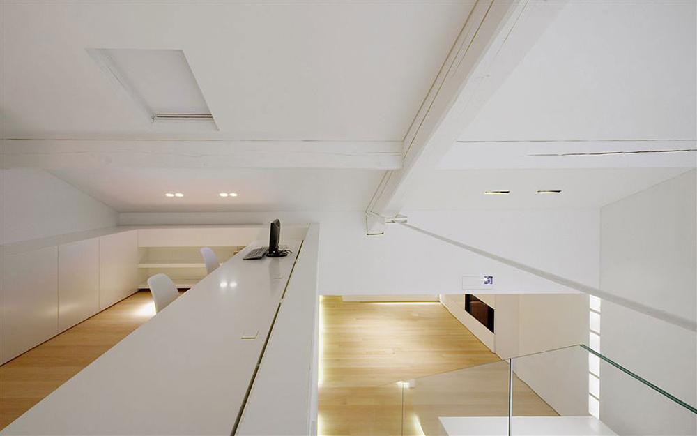 Office, Como Loft, Milan by JM Architecture