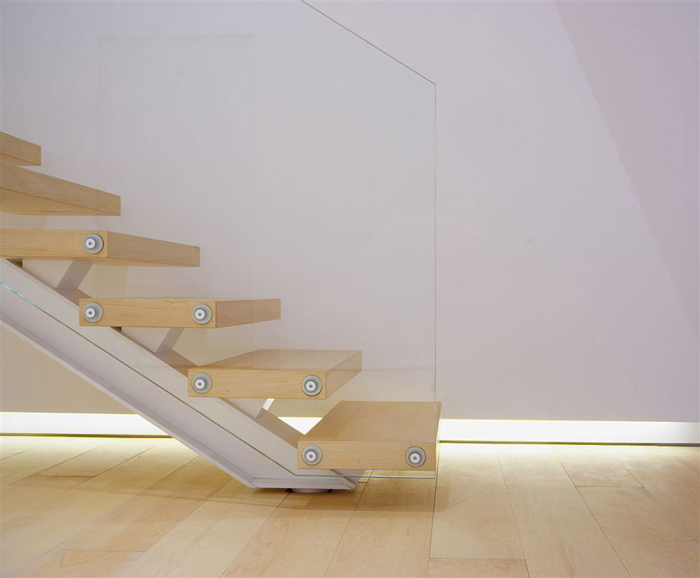 Stairs Detail, Como Loft, Milan by JM Architecture