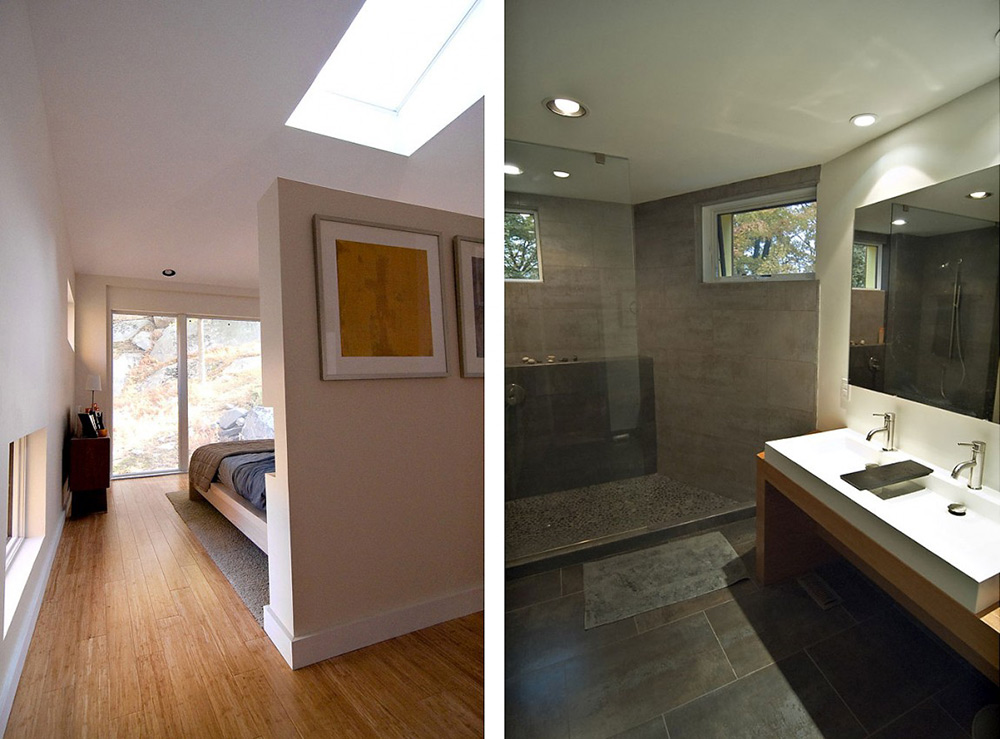 Bedroom & Bathroom, DPR Residence, New York by Method Design Architecture