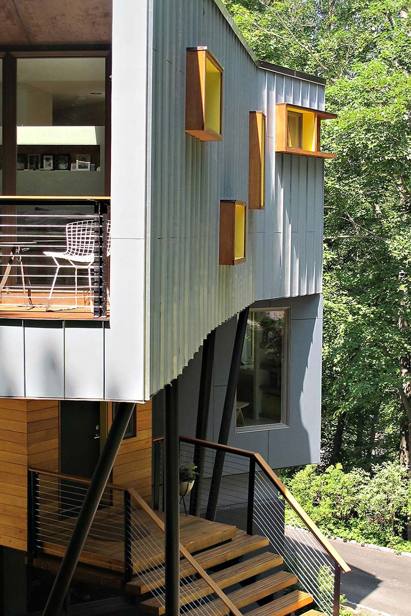 Exterior, DPR Residence, New York by Method Design Architecture