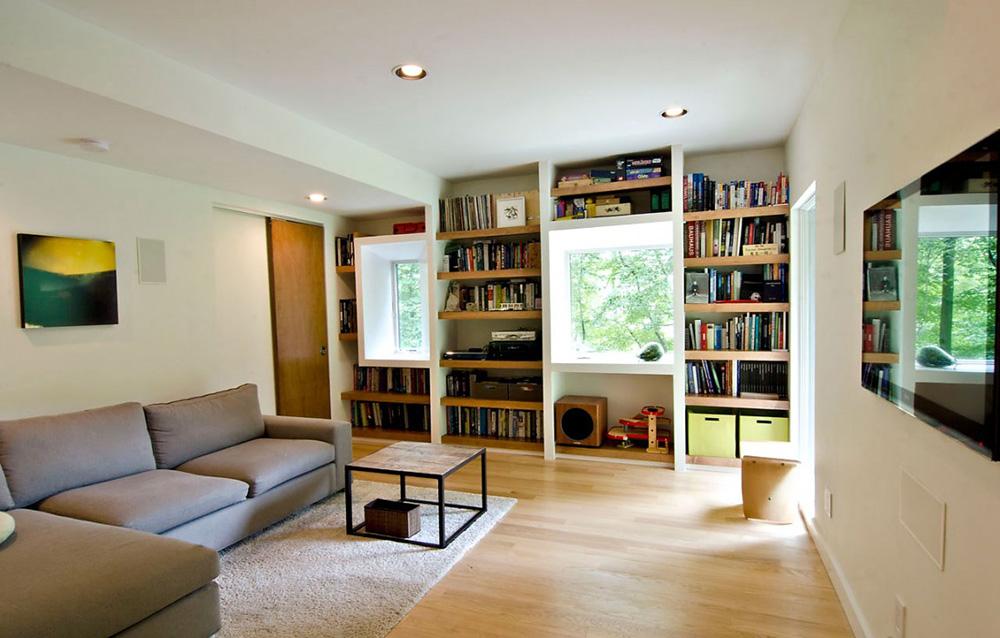 Living Room, DPR Residence, New York by Method Design Architecture