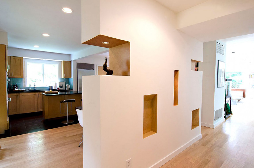 Wall Detail, DPR Residence, New York by Method Design Architecture