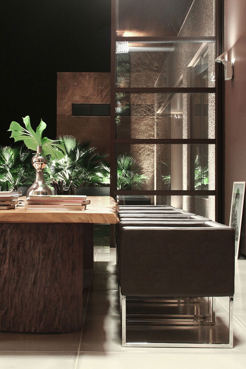 Dining Table, FF House, Brazil by Studio Guilherme Torres