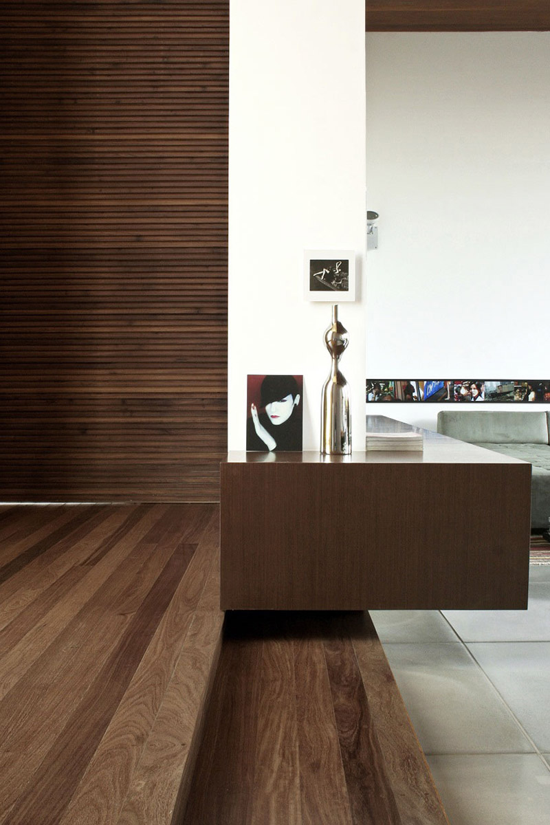 Living Space, FF House, Brazil by Studio Guilherme Torres
